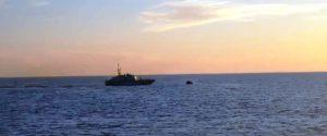 Un'immagine della nave Mare Jonio del progetto