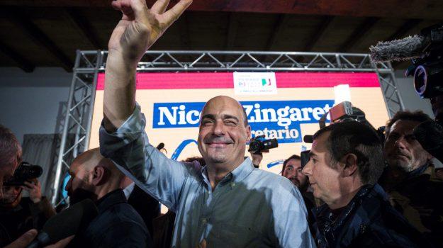 Primarie pd, Nicola Zingaretti, Sicilia, Politica