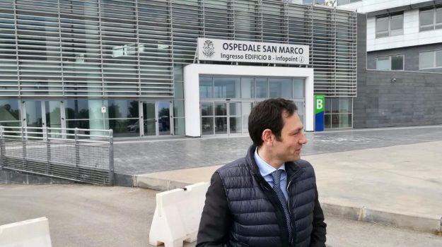 ospedale San Marco Catania, reparti di ginecologia, Ruggero Razza, Catania, Cronaca