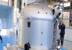 Presentato a Torino il modulo Bishop per la Stazione Spaziale Internazionale È stato prodotto dalla holding italiana Leonardo, in joint venture con i francesi di Thales - LaPresse