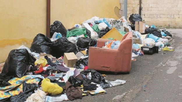 canicattì, rifiuti, spazzamento, Agrigento, Cronaca