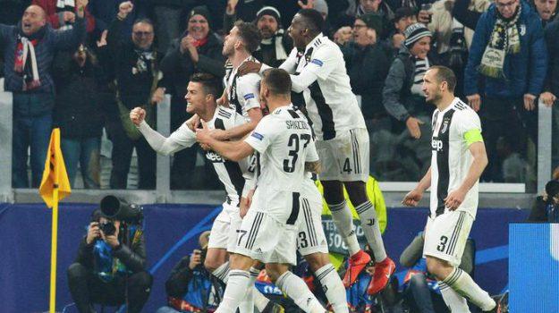 Juventus-Atletico, Cristiano Ronaldo, Sicilia, Calcio
