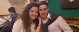 Salvatore Calafato e Ylenia Giurdanella, morti sulla Statale 557