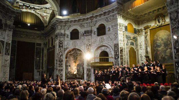 Chiesa santissimo Salvatore, concerto, coro lirico Mediterraneo, Nuccio Anselmo, Palermo, Cultura