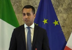 Via della Seta, Di Maio: «Non è un'occasione per nuove alleanze, ma un'opportunità per il nostro export» Il ministro del lavoro chiarisce: «L'Italia deve esportare molto di più, ora la bilancia pesa in modo clamoroso per la Cina» - LaPresse