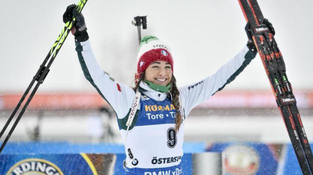 biathlon, coppa del mondo, Dorothea Wierer, Sicilia, Sport