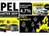 Veicoli commerciali, +35% Opel nel primo trimestre in Italia