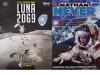 Le copertine dei fumetti arrivate sulla Stazione Spaziale con il cargo Cygnus (fonte: ASI)