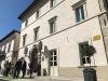 Lingresso di Vespasia a Palazzo Seneca, a Norcia