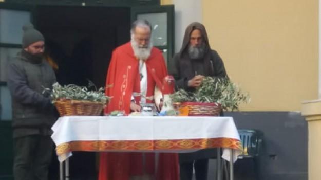 Missione Speranza, ritorno Biagio Conte, sit-in Massimo, Biagio Conte, Palermo, Cronaca