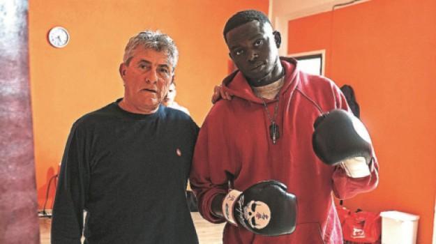 boxe, campobello di mazara, migranti, Ba Aboulaye, Trapani, Sport