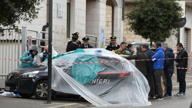 Cagnano Varano, carabiniere ucciso, Giuseppe Papantuono, Vincenzo Di Gennaro, Sicilia, Cronaca