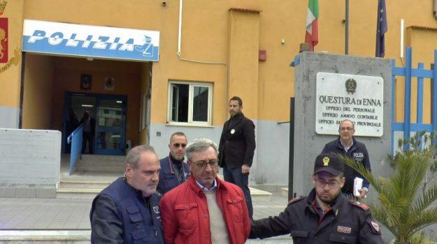 arresti, calcestruzzo, mafia, Carmelo Bruno, Giuseppe Antonio Falzone, Giuseppe Di Venti, Enna, Cronaca