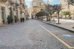 Via Roma, la riapertura è vicina: lavori in altre strade del centro di Enna