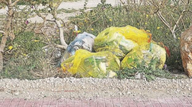 erice, rifiuti, daniela toscano, Trapani, Cronaca