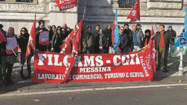 commercio, filcams cgil, liberalizzazioni, Messina, Cronaca