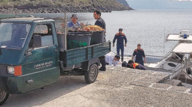 pesca di frodo, salina, Francesco Principale, Messina, Cronaca