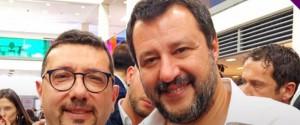 Igor Gelarda e Matteo Salvini