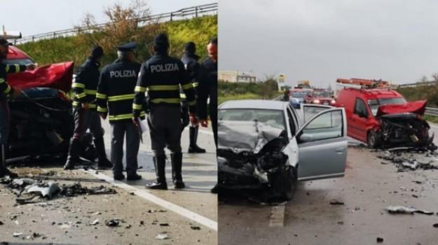 incidente mortale, ss 115, Domenico Palazzolo, Agrigento, Cronaca