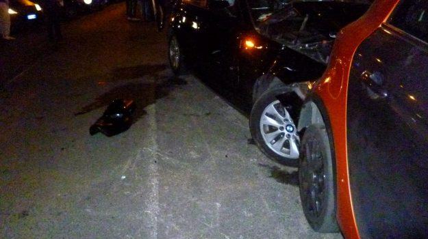 incidente, scontro auto-moto, via Bisazza, Messina, Cronaca