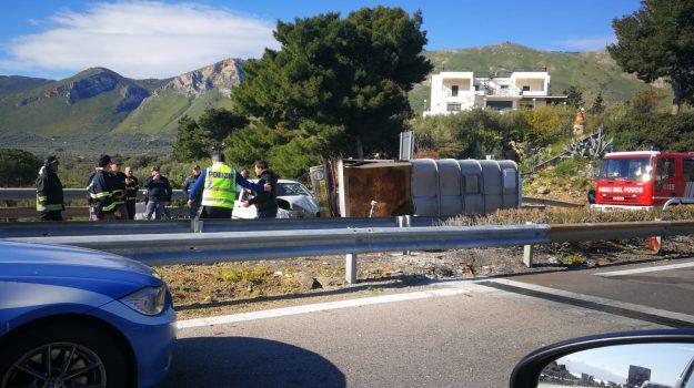 feriti, incidente, Palermo-Catania, Catania, Palermo, Cronaca