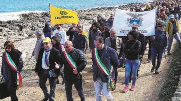 Custonaci, legambiente, riserva di monte cofano, Trapani, Cronaca