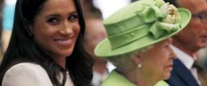 Meghan con la Regina Elisabetta