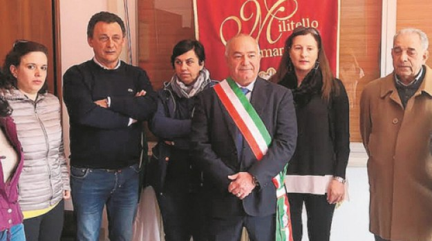 Militello rosmarino, Salvatore Riotta, Messina, Politica