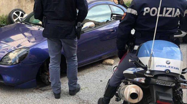 furto, polizia, ruote, Messina, Cronaca