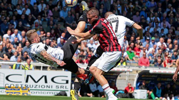 Calcio, Parma-Milan, SERIE A, Sicilia, Calcio