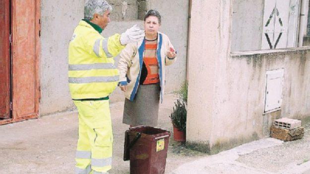 Piazzale Ugo La Malfa, raccolta differenziata, rifiuti, Agrigento, Cronaca