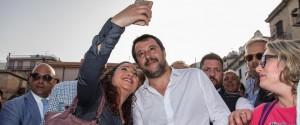 Matteo Salvini a Monreale