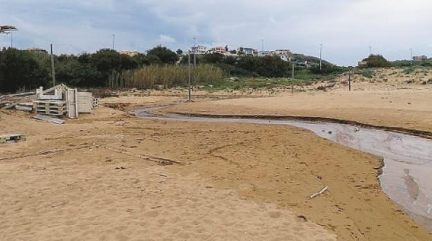 inquinamento, mareamico, San Leone, Agrigento, Cronaca