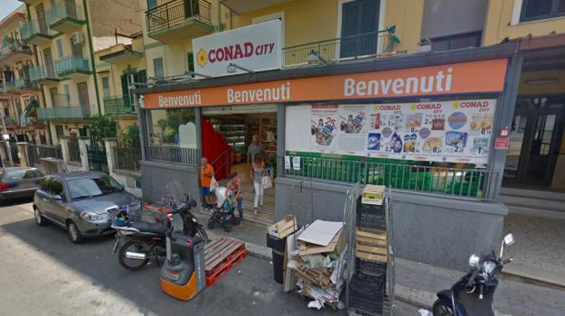 conad, rapina, via Roccazzo, Palermo, Cronaca
