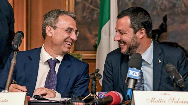 Lega, m5s, rifiuti, termovalorizzatori, Matteo Salvini, Sergio Costa, Sicilia, Politica