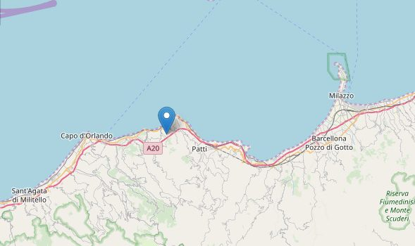gioiosa marea, sisma, terremoto, Messina, Cronaca