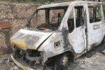 """Attentato incendiario a Sutera, in fiamme un pulmino dell'associazione """"I Girasoli"""""""