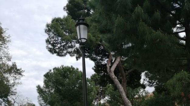 illuminazione, Palermo, piazza Indipendenza, Leoluca Orlando, Palermo, Cronaca