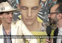 Achille Lauro: «Non sono un rapper, ma un artista fuori controllo» Il musicista romano pubblica «1969»: «La musica di quegli anni è stata rinascita e libertà per l'arte» - CorriereTV