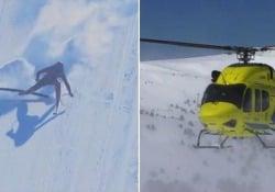 Chilometro lanciato: il «re della velocità» cade a 170 km/h Sci velocità: il belga Joost Vandendries ha riportato nove fratture nove fratture - CorriereTV