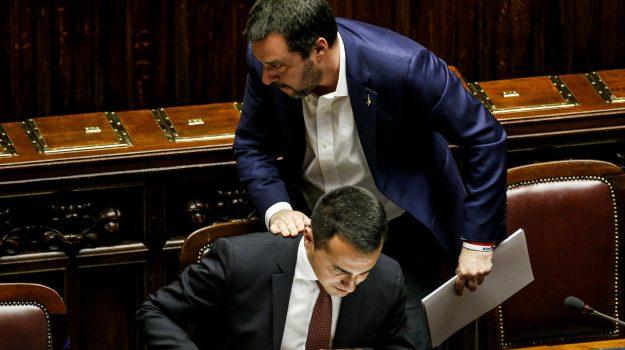 scontro Lega-M5S, Luigi Di Maio, Matteo Salvini, Sicilia, Politica