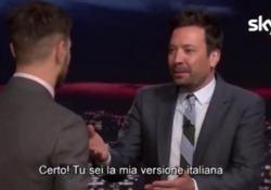 Epcc, Alessandro Cattelan nello studio di Jimmy Fallon Il conduttore del Tonight Show: