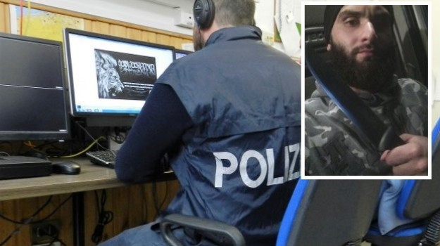 Isis, terrorismo, Giuseppe Frittitta, Ossama Ghafir, Palermo, Cronaca