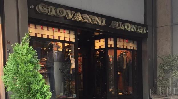 abbigliamento, boutique Alongi, commercio, negozio Palermo, svendita della merce, via Ruggero Settimo, Gianfranco Alongi, Giovanni Alongi, Palermo, Economia