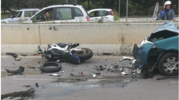 incidente, via lanza di scalea, Palermo, Cronaca