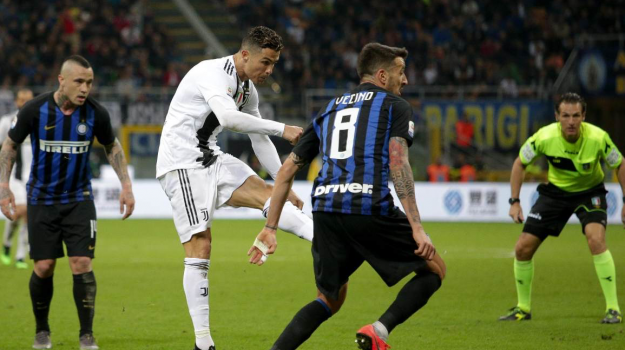 inter-juventus, Cristiano Ronaldo, Radja Nainggolan, Sicilia, Calcio