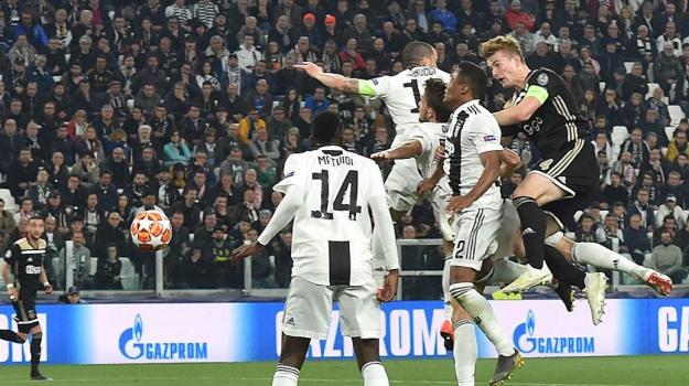 Juventus-Ajax, Cristiano Ronaldo, Sicilia, Calcio