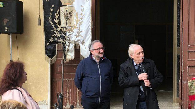 I sindaci di Motta D'Affermo e Castel di Lucio, Sebastiano Adamo e Pippo Nobile