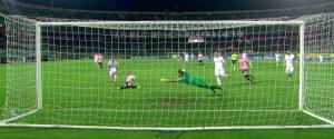 Nestorovski regala i 3 punti contro il Verona: per il Palermo serie A più vicina