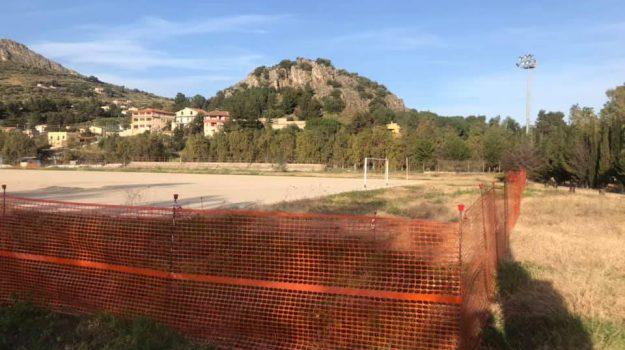 campo di calcio, Don Carlo Misilmeri, lavori, misilmeri, Filippo Minì, Giusto Lo Gerfo, Palermo, Cronaca